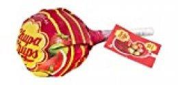 Chupa Chups Original, Caramelo con Palo de Sabores Variados, Mega Chups de 10 unidades de 12 gr. (Total 120 gr.)