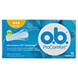 O.B. ProComfort - Tampones con protección fiable, 16 unidades