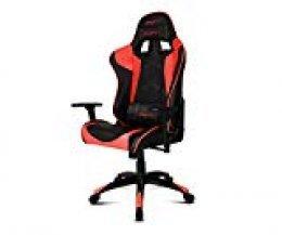 Drift DR300BR - Silla Gaming Profesional, (Polipiel Alta Calidad, Ergonómica), Color Negro/Rojo