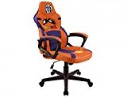 Subsonic DBZ Dragon Ball Z - Silla gaming junior - asiento gamer para escritorio - sillon de oficina - Licencia oficial (PS4)