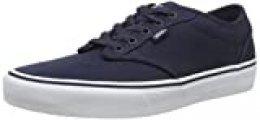 Vans Atwood Canvas, Zapatillas para Hombre, Azul (Navy/White 4k1), 45 EU