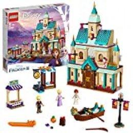 LEGO Disney Princess - Aldea del Castillo de Arendelle, Set de construcción Castillo de la Princesa Elsa, Incluye Minifiguras de Kristoff, Anna y un Gato (41167) , color/modelo surtido