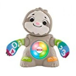 Fisher-Price Perezoso Linkimals, Juguete interactivo bebés +9 meses (Mattel, GHY88)