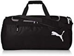 Puma Fundamentals Sports Bag S Bolsa Deporte, Unisex Adulto, Gris Black, OSFA