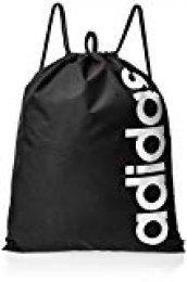 adidas Linear Core, Mochila Unisex Adulto, Negro (Black/Black/White), 1x37x47 centimeters (W x H x L)