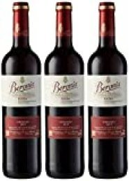 Beronia Crianza Vino Tinto - 3 botellas x 750 ml - Total: 2250ml