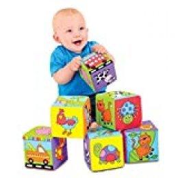Galt Toys Dados Divertidos, Multicolor, Cubo tamaño: 10 cm (A1085L)