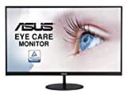 "ASUS VL279HE - Monitor Eye Care de 27"" (75 Hz, Adaptive-Sync/FreeSync, Sin Marco, Fino, Antiparpadeo, Filtro de luz Azul)"