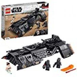 LEGO Star Wars TM Nave de Transporte de los Caballeros de REN con Minifigura de Juguete de Ray, Multicolor (75284)