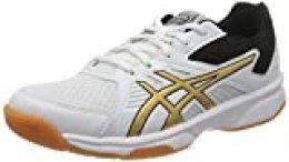 Asics 1072a012-106, Zapatos de Voleibol para Mujer, Blanco, 42 EU