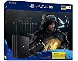 PlayStation 4 Pro - Konsole inkl. Death Stranding (1TB, schwarz, Pro) [Importación alemana]