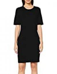 United Colors of Benetton Basico 2 Woman Pantalones, Negro (Negro 100), 36 (Talla del Fabricante: 40) para Mujer