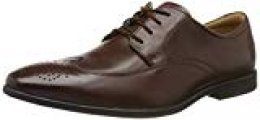 Clarks Bampton Wing, Zapatos de Cordones Brogue para Hombre