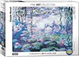 WATERLILIES BY MONET 1000PC PU