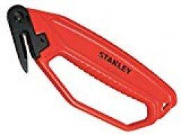 Stanley 0-10-244 Cuchillo de Seguridad para Abrir embalajes, 180 mm