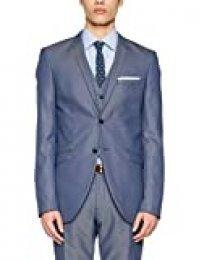 SELECTED HOMME Shdone-Maze M. Blue Struct. Blazer STS Chaqueta de Traje para Hombre