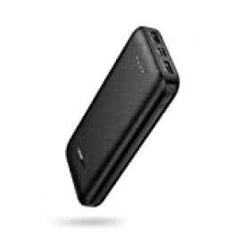UGREEN Batería Externa 20000mAh, Power Bank Cargador Portátil 2 Salidas USB Compatible con iPhone 11 X XR 8 7 Samsung S10+ S9 Note 10 A10 A50 Xiaomi Redmi Note 8 Mi A3 Mi 9 Huawei P30 Pro P20