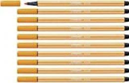 Rotulador STABILO Pen 68 - Caja con 10 unidades - Color naranja