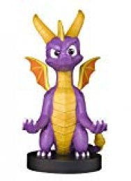 Cable guy XL Spyro the dragon,soporte de sujeción o carga para mando de consola,smartphone y tableta con tu personaje favorito con licencia de Activision.Producto con licencia oficial.Exquisite Gaming