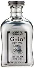 Ziegler G=in³ Limited Edition Metal Platinum Classic Dry Gin - 700 ml