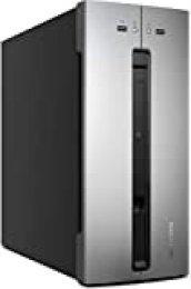 MEDION AKOYA M80 - Ordenador de sobremesa (Intel Core i3-9100, 8GB RAM, 1TB de HDD, RX560-2GB, Windows10), Color plateado