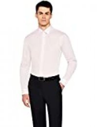 Marca Amazon - find. Camisa Formal Entallada Hombre