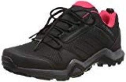 Adidas Terrex AX3 GTX W, Zapatillas de Deporte para Mujer, Gris (Carbon/Core Black/Active Pink 0), 36 2/3 EU
