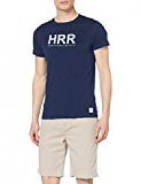 Hackett London Hrr Logo tee Camiseta para Hombre