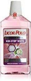 Licor del Polo Enjuague bucal Non-Stop White - 500 ml