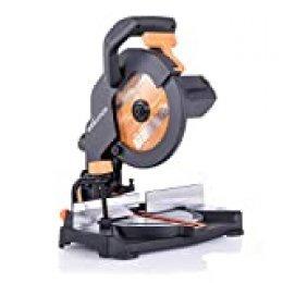 Evolution Power Tools R210CMS Sierra ingletadora fabricada de un compuesto multimaterial, 230 V, 210 mm
