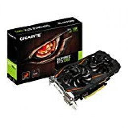 Gigabyte GeForce GTX 1060- Tarjeta gráfica Windforce2OC 6GB (1280Core, 1556MHz GPU, 1771MHz Boost), color negro