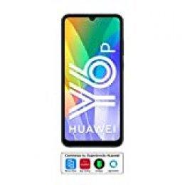 """Huawei Y6p - Smartphone con Pantalla de 6.3"""" (3 GB RAM+64 GB ROM, Procesador Octa-Core, Triple cámara de 13MP, Lente Ultra Gran Angular, Batería de 5000 mAh) Negro"""