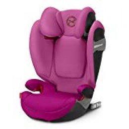 Cybex - Silla de coche grupo 2/3 Solution S-fix, para coches con y sin ISOFIX, 15-36kg, desde los 3 hasta los 12 años aprox., Fancy Pink