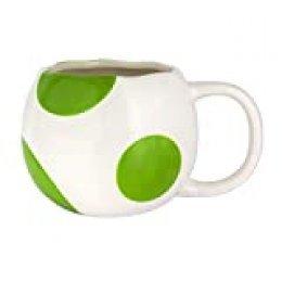 Paladone 43AB882063 Taza 3D Super Mario Yoshi, 330 milliliters, cerámica