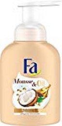 Fa Espuma Jabón Mousse & Oil Manteca de Cacao, 4Unidades (4x 250ml)