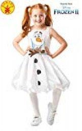 Rubies 300287 9-10 Disney Frozen 2 - Disfraz de Frozen 2, para niñas, multicolor