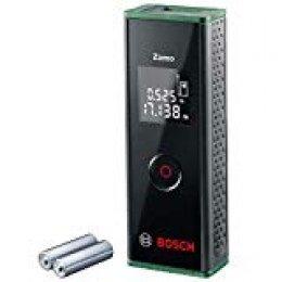 Bosch Home and Garden Zamo Láser de distancias (3a generación, alcance: 0.15 - 20m, en caja), 1.5 V