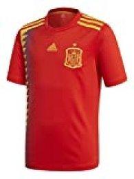 adidas Camiseta de la Selección Española de Fútbol para el Mundial 2018, Réplica Oficial, Niños, 1ª Equipación, Talla 164