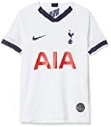 NIKE Thfc Y Nk BRT Stad JSY SS Hm Camiseta Fútbol, Unisex niños, White/(Binary Blue) (Full Sponsor), M