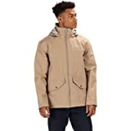 Regatta Hartigan Waterproof and Lined Hooded Outdoor Chaqueta, Hombre