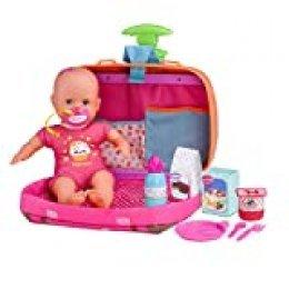 Nenuco Siempre Conmigo- Muñeco bebé con maletín (Famosa 700013791)