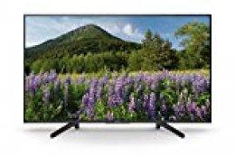 """Sony KD49XF7004BAEP - Smart TV de 49"""" 4K Ultra HD con Soporte de ángulo, Negro Mate"""
