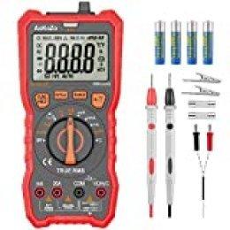 Multimetre Digital Profesional,AoKoZo Automático Polimetro Digital 6000 Cuentas,TRUE RMS