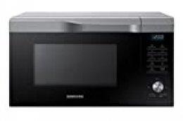Samsung Mc28M6055CS/EC - Horno-Microondas con grill, 900W/1500W/2100W, 28 litros, interior de cerámica, ventana EasyView y función horno hasta 200º C, 51,7 x 31 x 46,3 cm