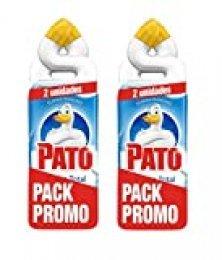 Pato - WC Acción Total limpiador para inodoro Oceano, limpia y perfuma, 750ml (2 x Duo Pack, 4 unidades)[Todos los aromas]