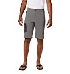 Columbia Triple Canyon Pantalón Corto De Senderismo, Hombre, City Grey, Shark, W36/L10