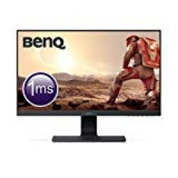 "BenQ GL2580H - Monitor Gaming de 25"" FullHD (1920x1080, 16:9, 1ms, HDMI, DVI-D, VGA, Eye-care, Flicker-free, Low Blue Light, antireflejo), Color Negro"