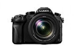 Panasonic Lumix DMC-FZ2000- Cámara digital híbrida de 20.1 MP (Zoom óptico 20x, Objetivo LEICA, Wi-Fi, Visor OLED, Grabación de Vídeo en 4K, Sensor MOS)-Color Negro