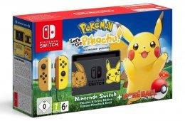 Nintendo Switch Pokémon: Consola + Let's Go Pikachu (Preinstalado) + Poké Ball Plus (Edición limitada)