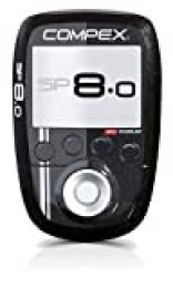 Compex SP 8.0 Electroestimulador, Unisex, Negro, 0